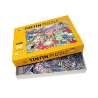 Puzzle Rally Adventures of Tintin