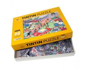 Puzzle Rallye Les Aventures de Tintin