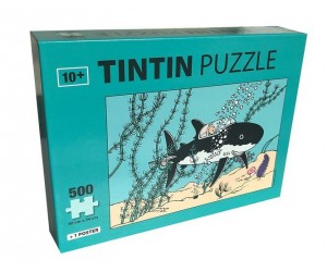 Puzzle Sous-Marin Requin Tintin