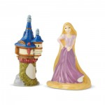 Rapunzel and Tower Salt and Pepper Shakers
