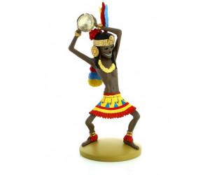 Rascar Capac - Figurine en résine - Tintin