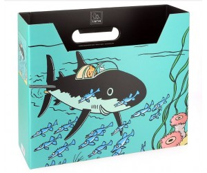 Requin Boîte Filière Tintin