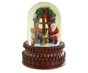 Arrivée du Père Noël - Boule à Neige Musicale