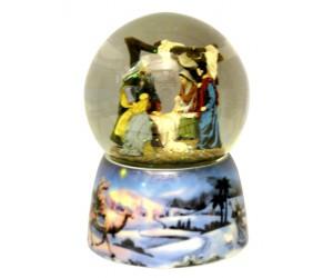 Nativité - Boule à Neige Musicale