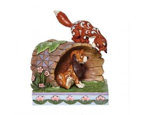 Rox et Rouky Disney Tradition Jim Shore