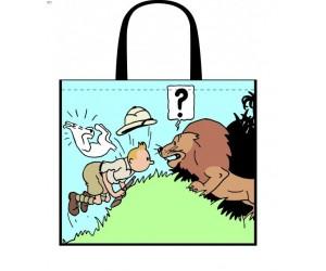 Sac Réutilisable Tintin au Congo