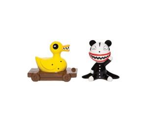 Scary Teddy et Killer Duck Salière et Poivrière