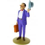 Séraphin en Costume - Figurine Tintin en résine