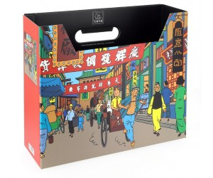 Rue de Shanghai Boîte Filière Tintin