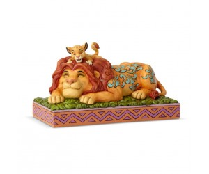 Simba et Mufasa Jim Shore Disney Tradition