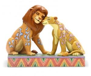 Simba et Nala  Jim Shore Disney Tradition