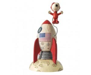 Snoopy Astronaute - Figurine Peanuts  Jim Shore