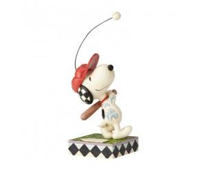 Snoopy Baseball Peanuts Jim Shore