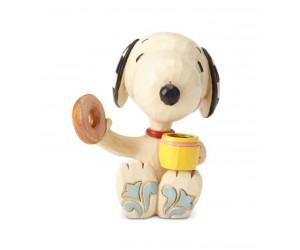Snoopy Beigne et Café Jim Shore Peanuts