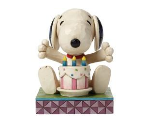 Snoopy Birthday Cake Jim Shore