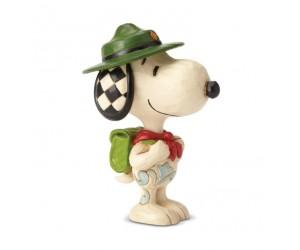 Snoopy Boy Scout Peanuts Jim Shore