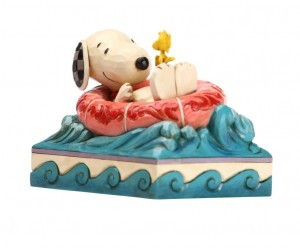 Snoopy Flotteur Jim Shore Peanuts