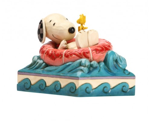 Snoopy Flotteur Jim Shore Peanuts
