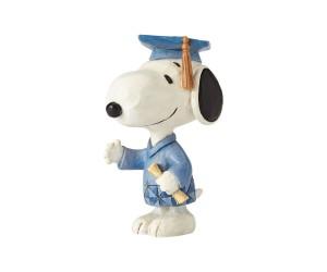 Snoopy Mini Graduation Jim Shore Peanuts