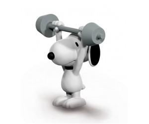 Snoopy avec Haltères Figurine Schleich