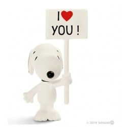 I Love You Snoopy - Figurine Schleich