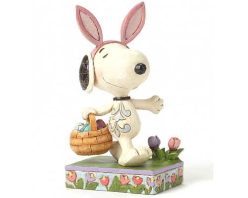 Snoopy Oreilles de Lapin - Jim Shore Peanuts
