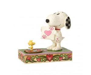 Snoopy Peintre Collection Peanuts de Jim Shore
