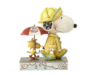 Snoopy Jour de Pluie - Jim Shore Peanuts