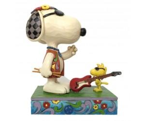 Snoopy et Woodstock en Concert - Figurine Peanuts  Jim Shore