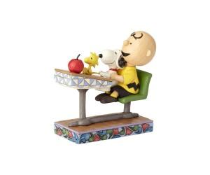 Charlie Brown, Snoopy et Woodstock à l'École