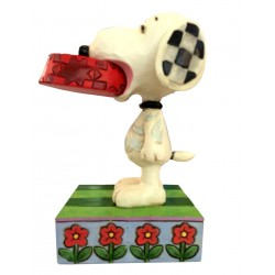 Snoopy et son Bol - Figurine Heartwood Jim Shore