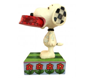 Snoopy et son Bol - Figurine Heartwood Jim Shore