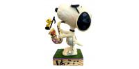 Snoopy et Saxphone - Figurine Heartwood Jim Shore