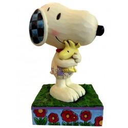 Snoopy et Woodstock - Figurine Heartwood Jim Shore