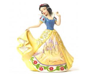Blanche Neige et sa Robe de Château Heartwood Jim Shore Disney Tradition