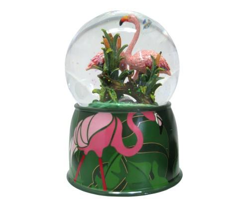 Flamands Roses - Boule à Neige Musicale