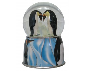 Pingouins - Boule à Neige Musicale