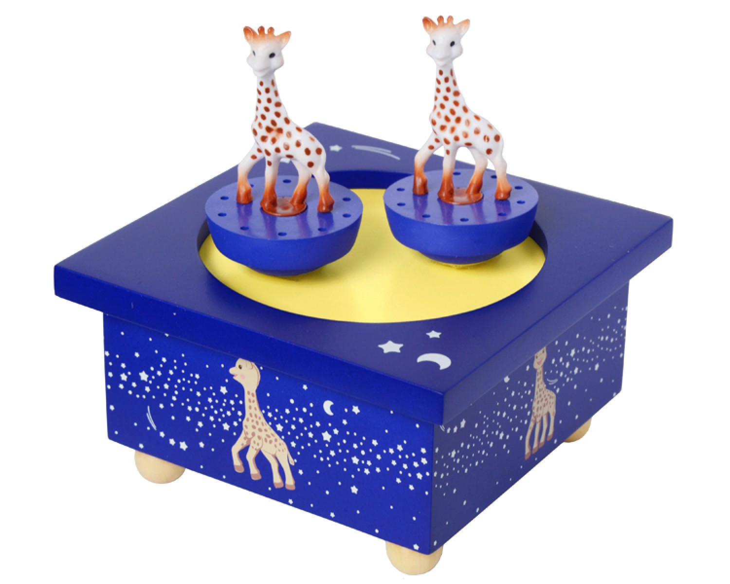 sophie la girafe bleue bo te musique patinoire. Black Bedroom Furniture Sets. Home Design Ideas