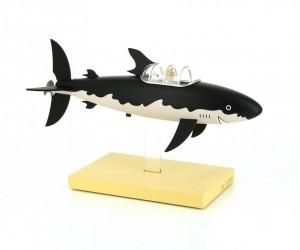 Sous-Marin Requin Tintin Figurine de Collection