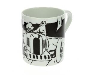 Tasse Tintin Chez les Soviets Voiture
