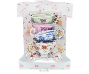 Stack of Teacups SC159
