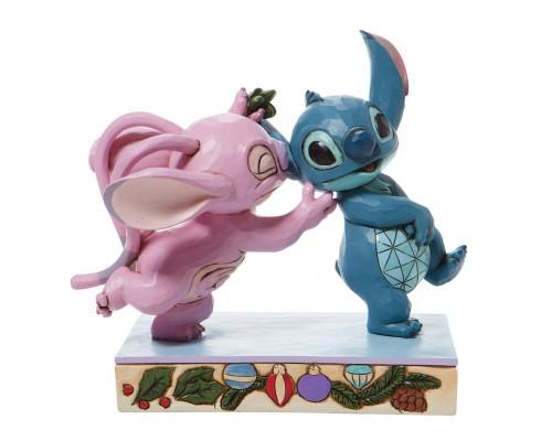 Stitch et Angel Jim Shore Disney Tradition