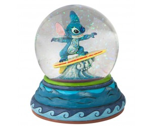 Stitch Boule à Neige Jim Shore Disney Tradition