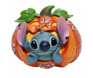 Stitch Citrouille Jim Shore Disney Tradition