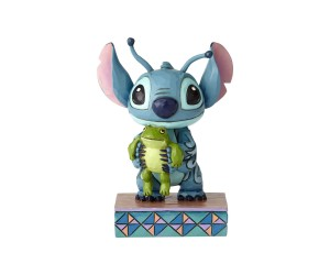 Stitch avec Grenouille Jim Shore Disney Tradition