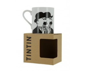 Tasse Dupont et Dupond Blanche et Noire - Produit Tintin