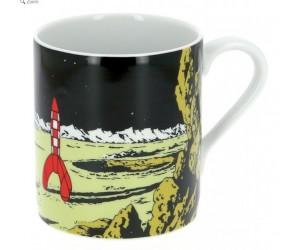 Tasse Tintin Fusée sur la Lune