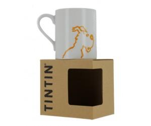 Tasse Milou Blanche et Jaune - Produit Tintin