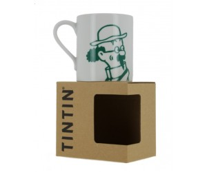 Calculus Mug White and Green - Tintin Product