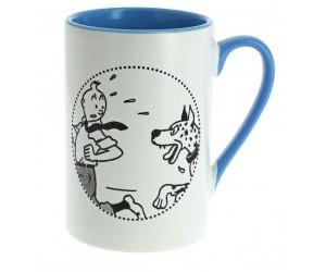 Tasse Tintin Danois Bleue